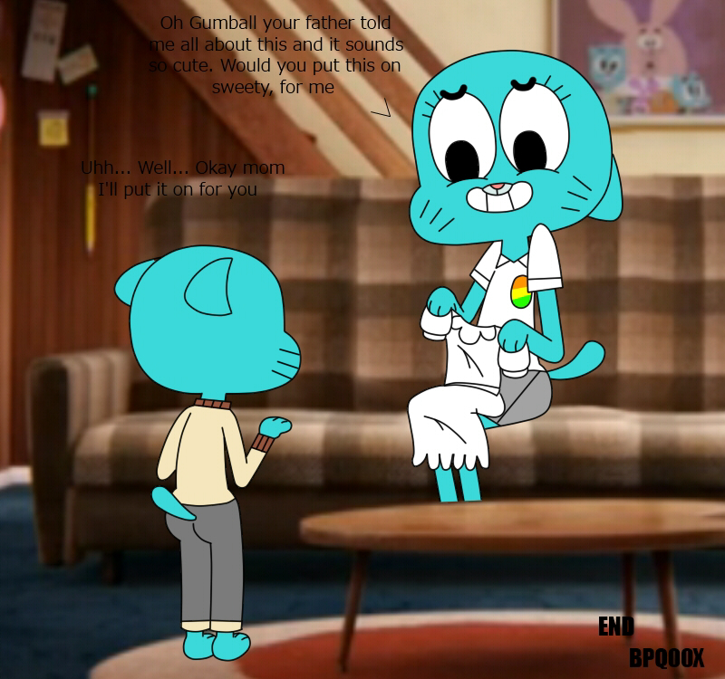 e hentai world the gumball of amazing The sexual adventures of sweet sarah