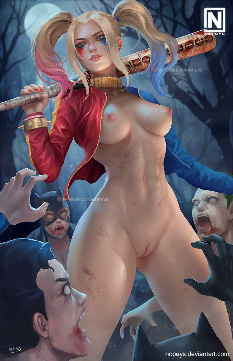 zombie quinn moon sheri harley Summer smith rick and morty nude