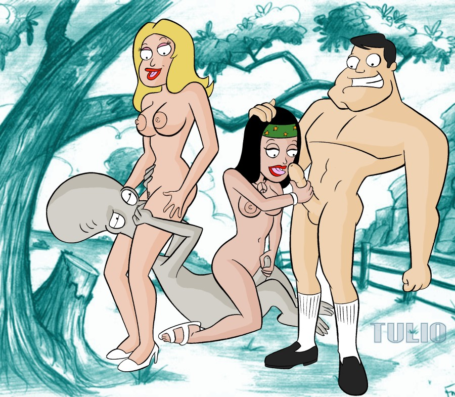cartoon american dad pictures porn Hot wailord on skitty action