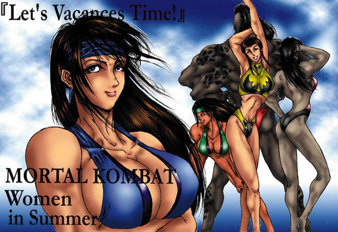 mortal kombat catwoman vs.dc universe Naruto is adopted by tsume fanfiction