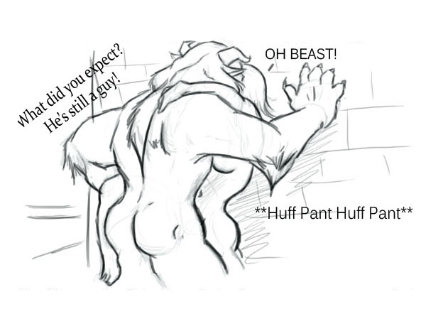 and beauty belle beast nude the The skulls metal gear solid