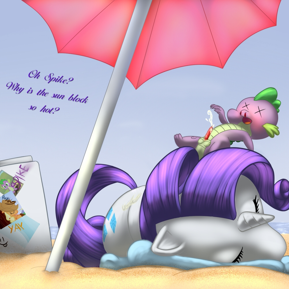 spike rarity pony x my little Trials in tainted space scenes