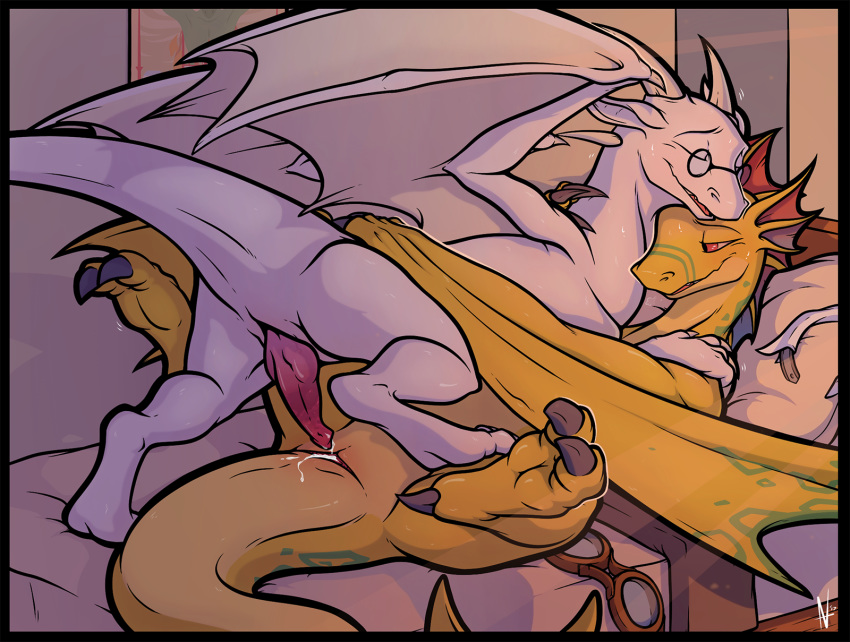 wings with 2 angels scaly Pokemon having sex with their trainers