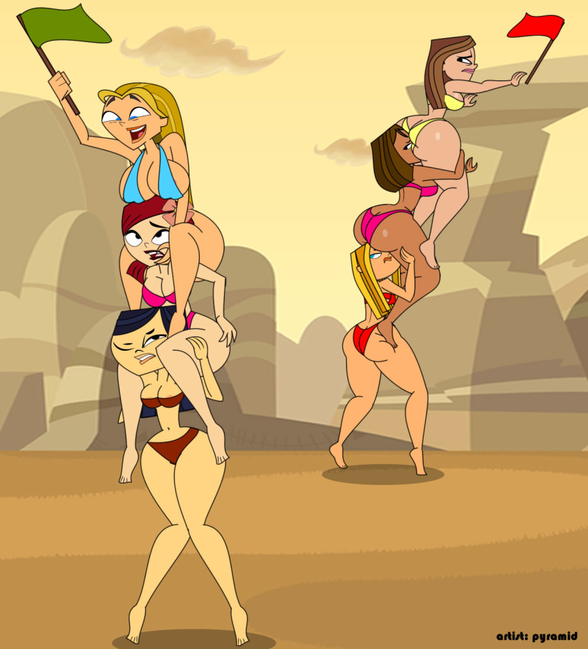 drama naked island courtney total Mario and peach have sex