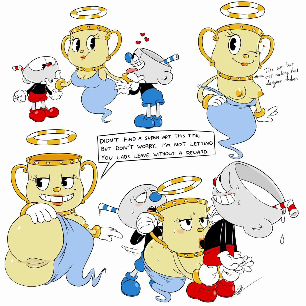 you are character which cuphead Bendy and the ink machine bendy cute