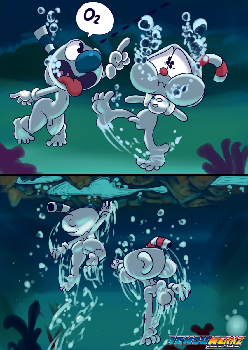 which you character cuphead are Naked girl hand job gif