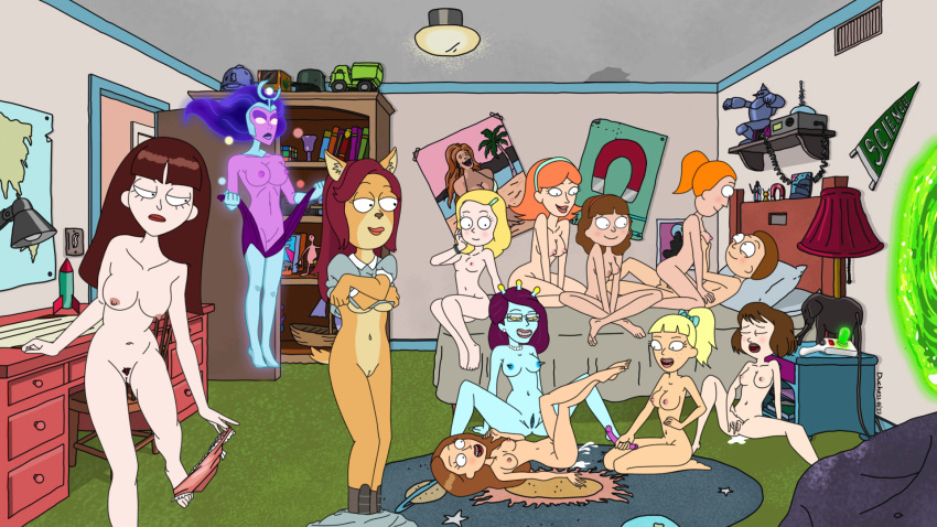 porn rick jessica morty and What to do with panties huniepop